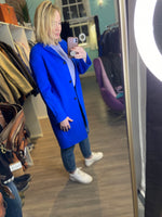 Vince Blue Classic Wool coat size small