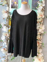 Boutique flared sleeve blouse NWT. Size 3X
