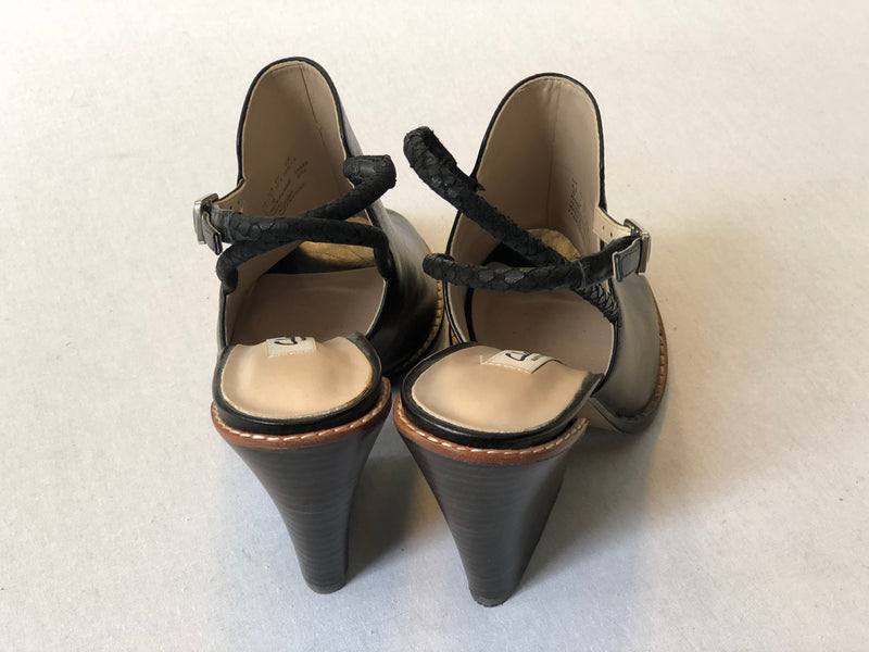 Clark Sarina Billy black wedge size 7