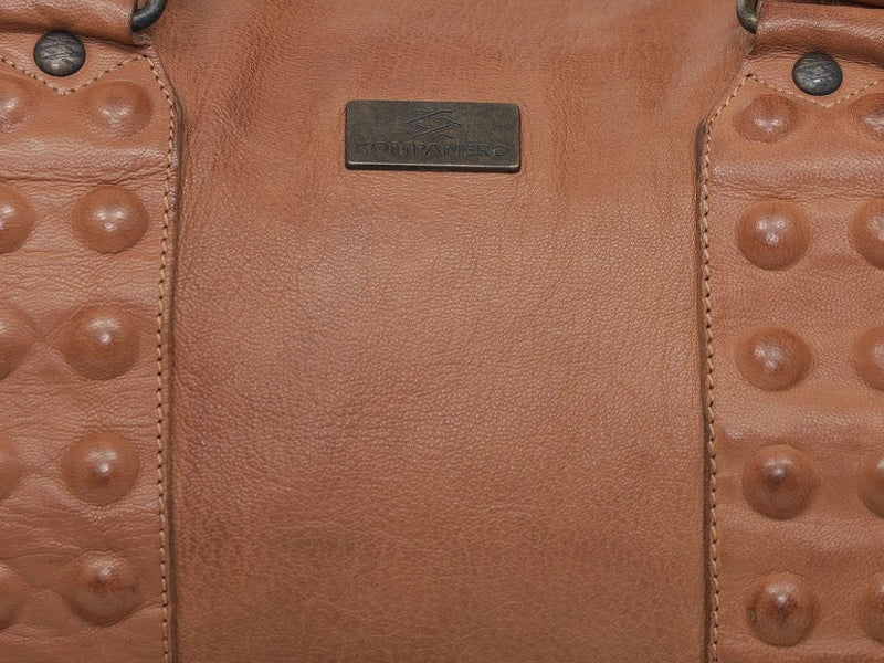Kompanero Leather Duffle Bag