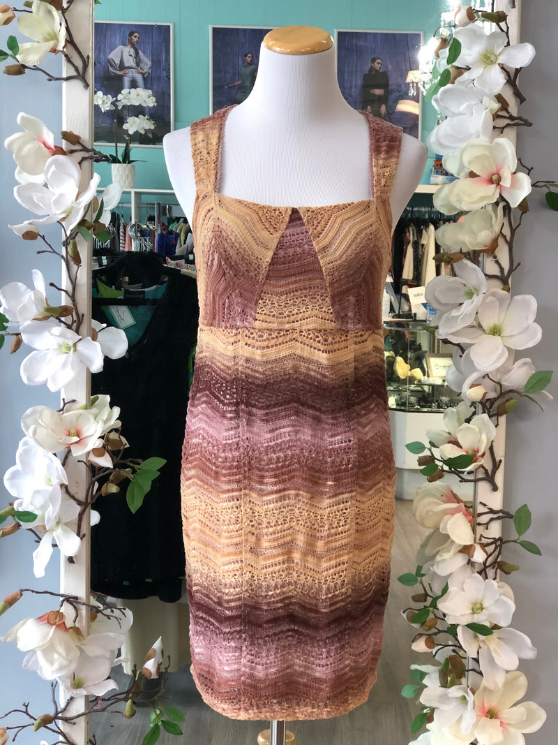 Free people ombre dress size 8.