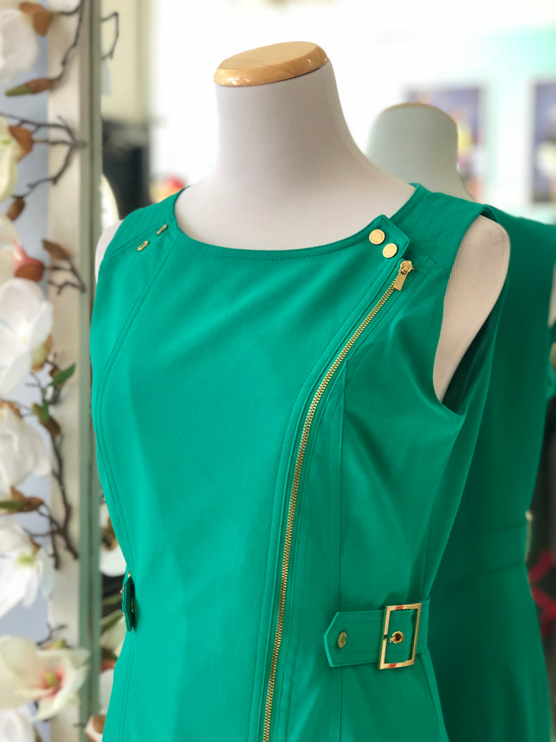 Calvin Klein brightly green dress size 4