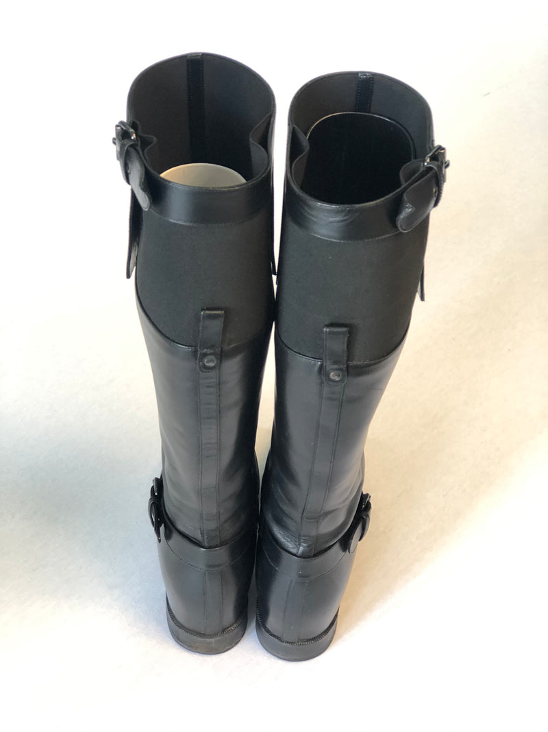 Christian Louboutin leather boots size 36