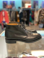 Ralph Lauren black leather men's Chukka Ankle boots size 9
