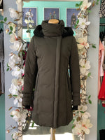 Soia & Kyo NWT forest green coat Size S