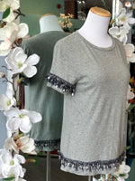Banana Republic grey tee size XS