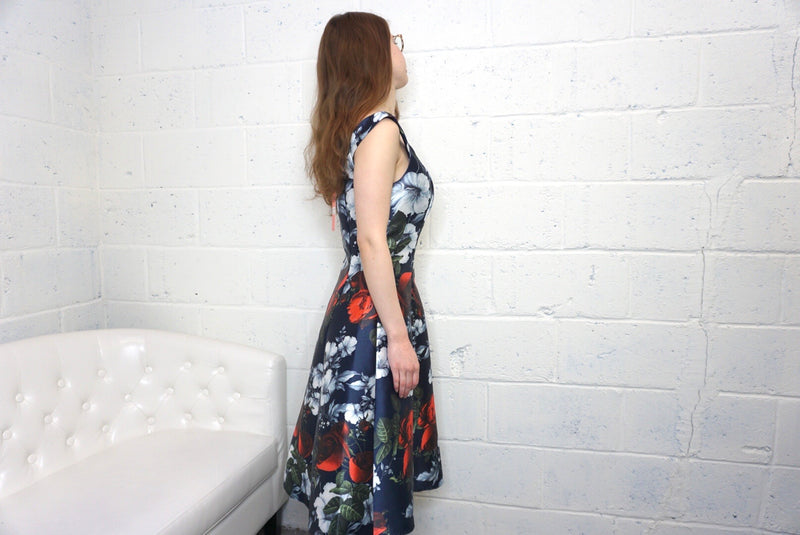 ChiChi Londn Floral dress size 6