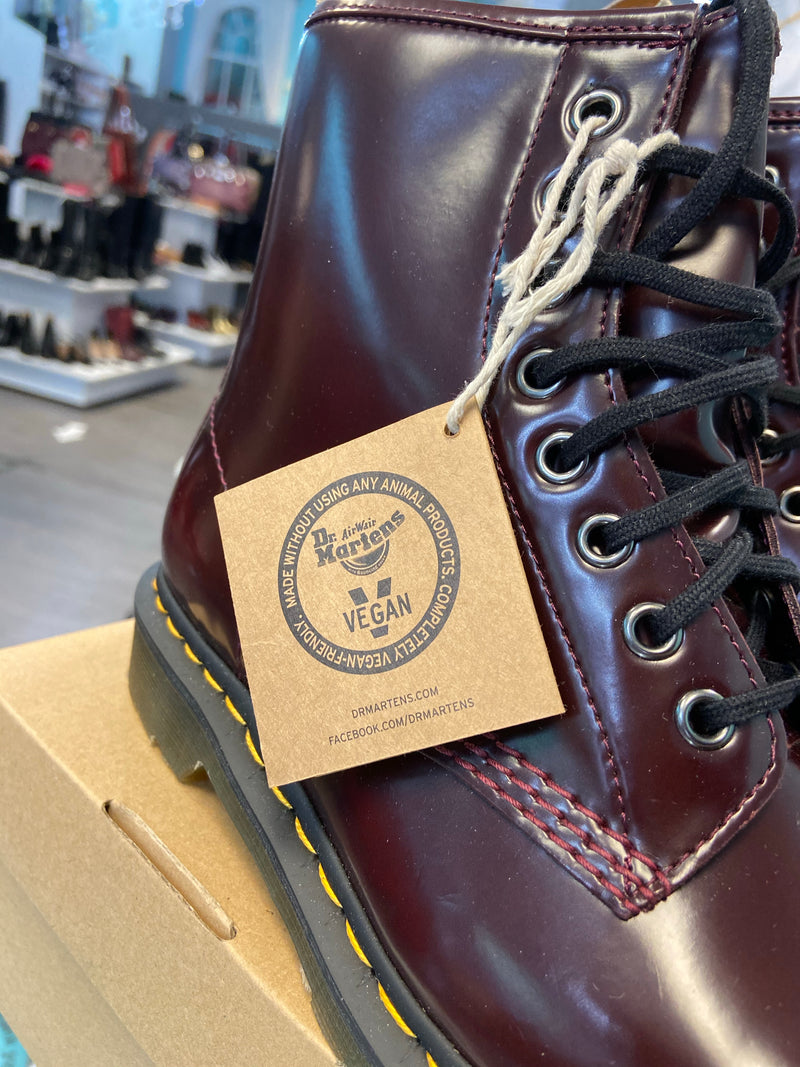 Dr. Martens Cherry Red boots size 8 (men's 7)