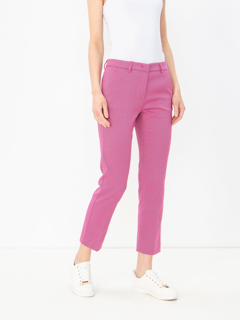 Weekend Max Mara Hatley pant in shocking pink nwt size 14