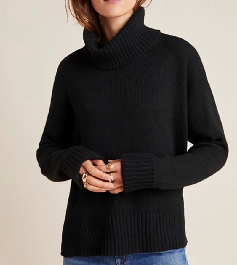 Anthropologie turtleneck sweater NWT