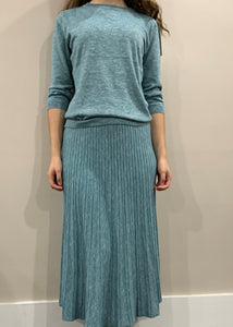 IV HEATHER KNIT SKIRT