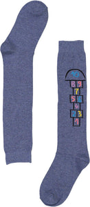 BL HOPSCOTCH KNEE HIGH - Head Over Heels - Israel - BLINQ - מכף רגל ועד ראש