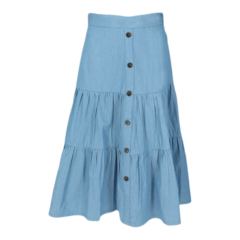 WF COTTON TIERED SKIRT 26