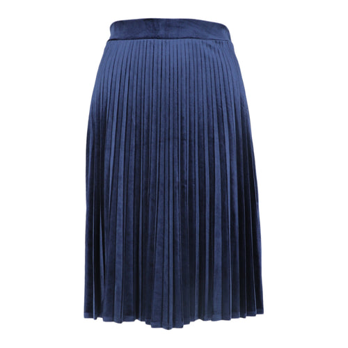 HK LADIES SHORT VELOUR ACORDIAN PLEATED SKIRT - Head Over Heels - Israel