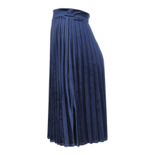 Load image into Gallery viewer, HK LADIES SHORT VELOUR ACORDIAN PLEATED SKIRT - Head Over Heels - Israel - BGDK - מכף רגל ועד ראש