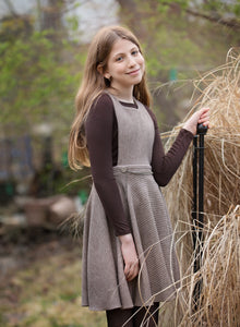 FRI RIB PINAFORE JUMPER