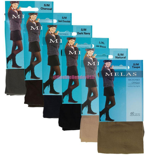 DEN 60 OPAQUE TIGHTS - Head Over Heels - Israel - MEMOI - מכף רגל ועד ראש