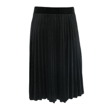 Load image into Gallery viewer, BGDK KIDS SHORT VELOUR ACCORDIAN PLEATED SKIRT - Head Over Heels - Israel - BGDK - מכף רגל ועד ראש