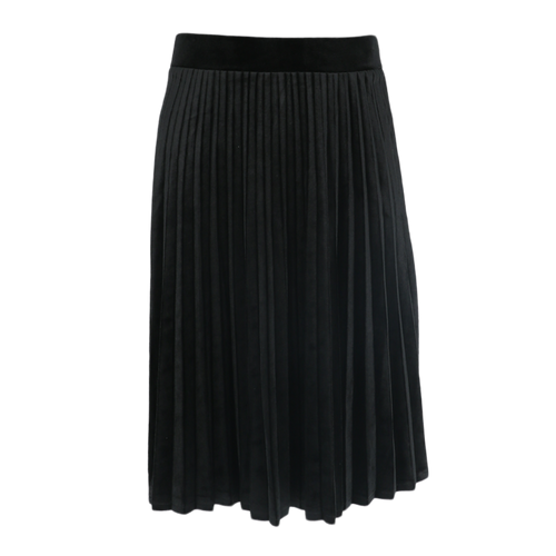 BGDK KIDS SHORT VELOUR ACCORDIAN PLEATED SKIRT - Head Over Heels - Israel - BGDK - מכף רגל ועד ראש