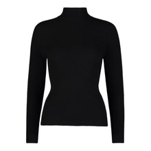Load image into Gallery viewer, YAL RIBBED MOCK NECK PULLOVER