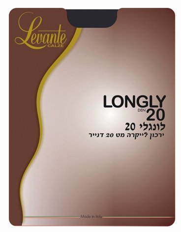 LONGLY DEN 20 THIGH HIGH - Head Over Heels - Israel - LEVANTE - מכף רגל ועד ראש
