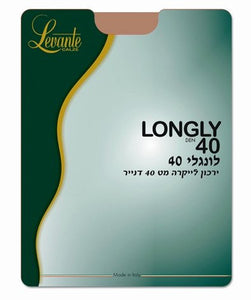 LONGLY DEN 40 THIGH HIGH - Head Over Heels - Israel - LEVANTE - מכף רגל ועד ראש