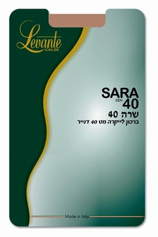 SARA KNEE HIGH 40 DEN - Head Over Heels - Israel - LEVANTE - מכף רגל ועד ראש
