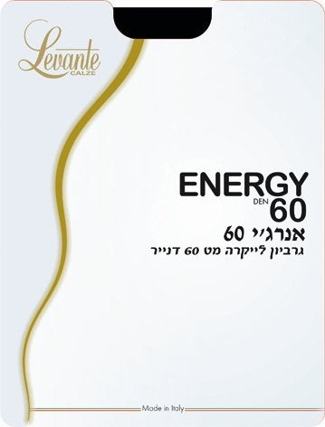 ENERGY DEN 60 TIGHTS - Head Over Heels - Israel - LEVANTE - מכף רגל ועד ראש