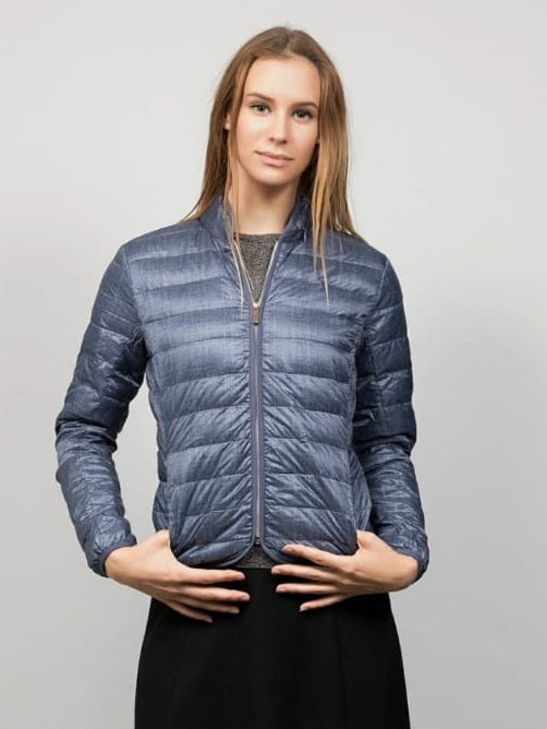 DA QUILTED LIGHT DOWN JACKET