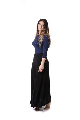 BGDK LADIES MAXI SLINKY ACCORDIAN PLEATED - Head Over Heels - Israel