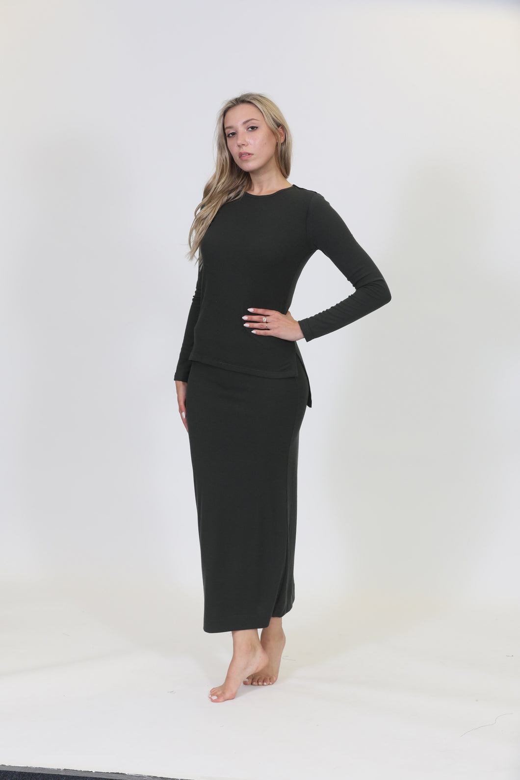 LU RIBBED MAXI - C - Head Over Heels - Israel - LUELLA - מכף רגל ועד ראש