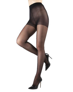 40 DEN SUPPORT TIGHTS / W SHADOW TOE