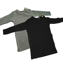 Load image into Gallery viewer, BGDK KIDS RIBBED LONG SLV T-SHIRT - Head Over Heels - Israel - BGDK - מכף רגל ועד ראש