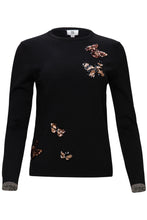 Load image into Gallery viewer, YAL SEQUIN BUTTERFLY DETAIL SWEATER - Head Over Heels - Israel