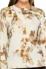 Load image into Gallery viewer, YAL FOIL COLOR PAINTED DETAIL SWEATER