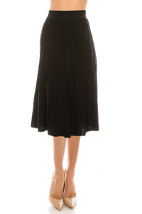 YAL CABLE STITCH SKIRT - Head Over Heels - Israel - YAL - מכף רגל ועד ראש