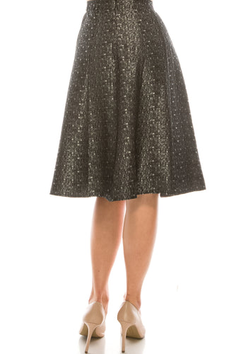 YAL PRINTED PANEL SKIRT - Head Over Heels - Israel