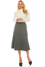 Load image into Gallery viewer, YAL KNIT TIER SKIRT