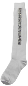 BL SEQUINED STRIP KNEE HIGH - Head Over Heels - Israel - BLINQ - מכף רגל ועד ראש