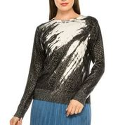 Load image into Gallery viewer, YAL SPARKLY DOT SHIMMER SWEATER