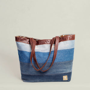 Large Tote Bag - Tufu Design