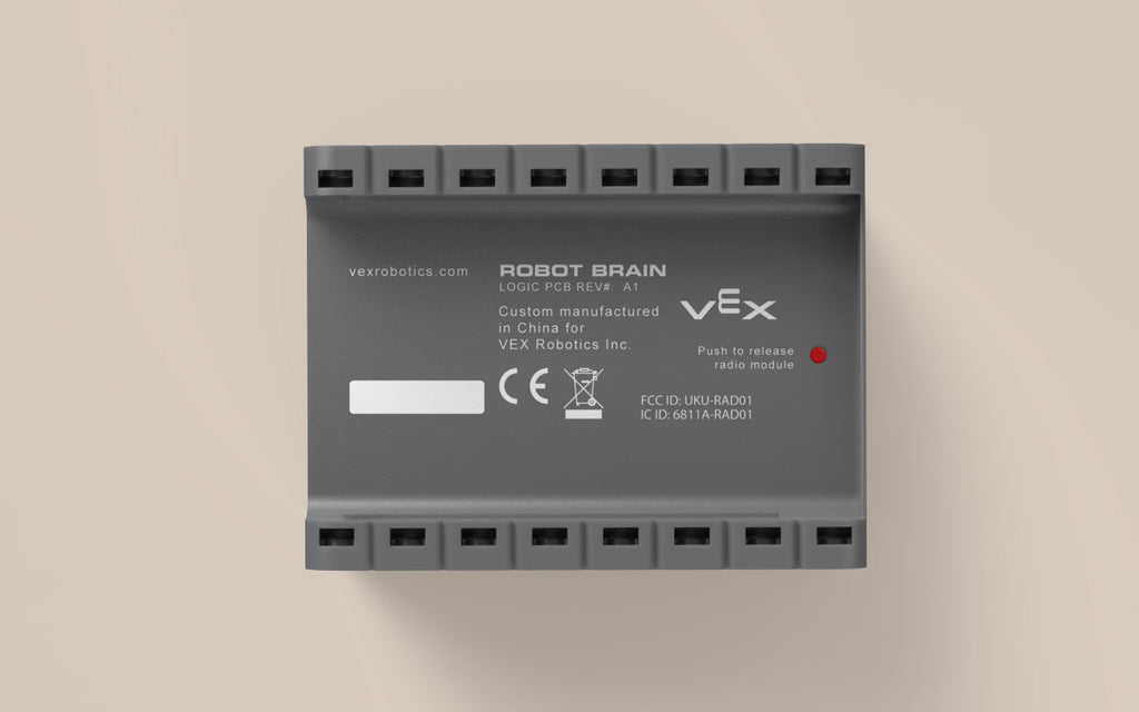 Brain Bottom: 7.2V Ni-MH battery runs for up to 6 hours (sold separately).