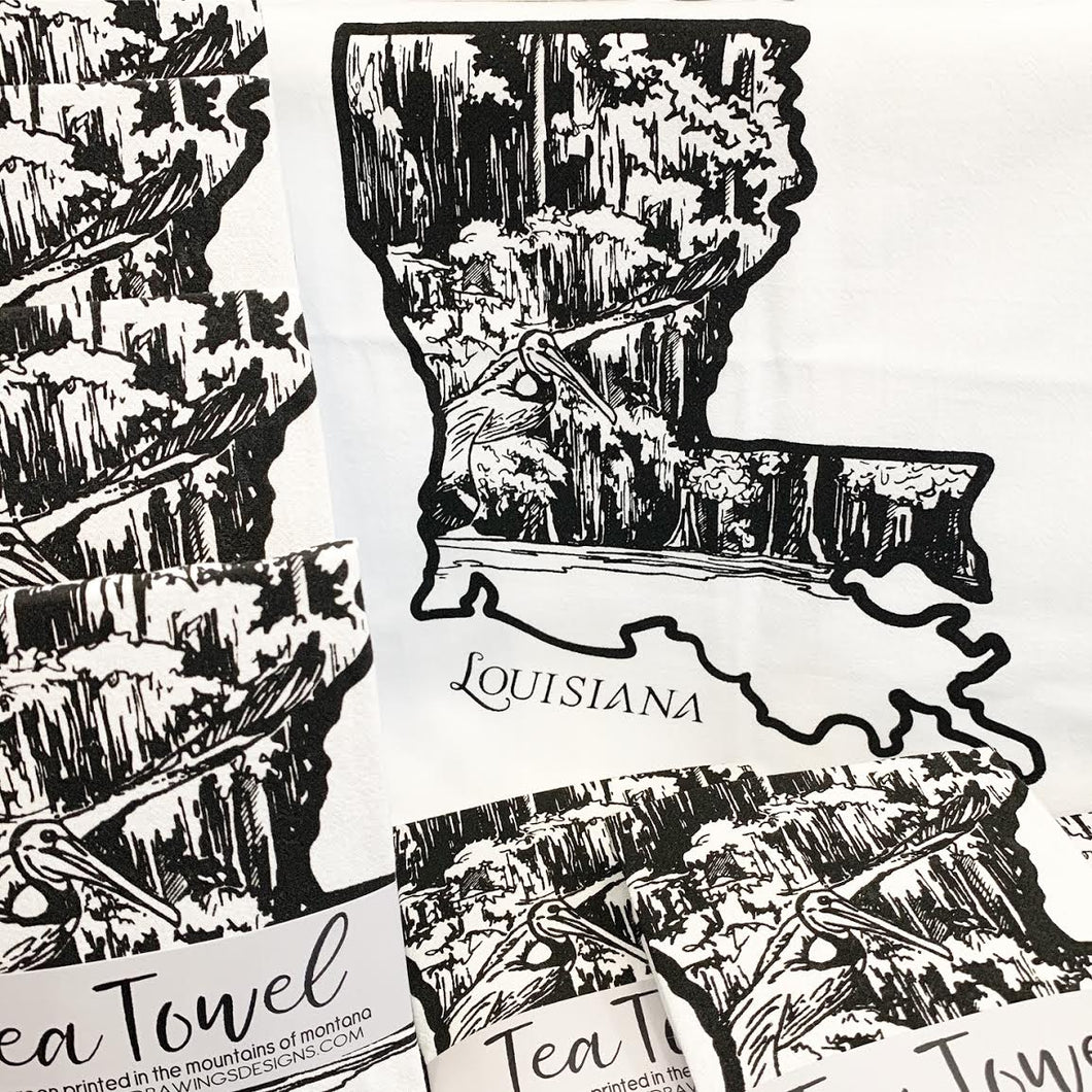 • LOUISIANA TEA TOWEL