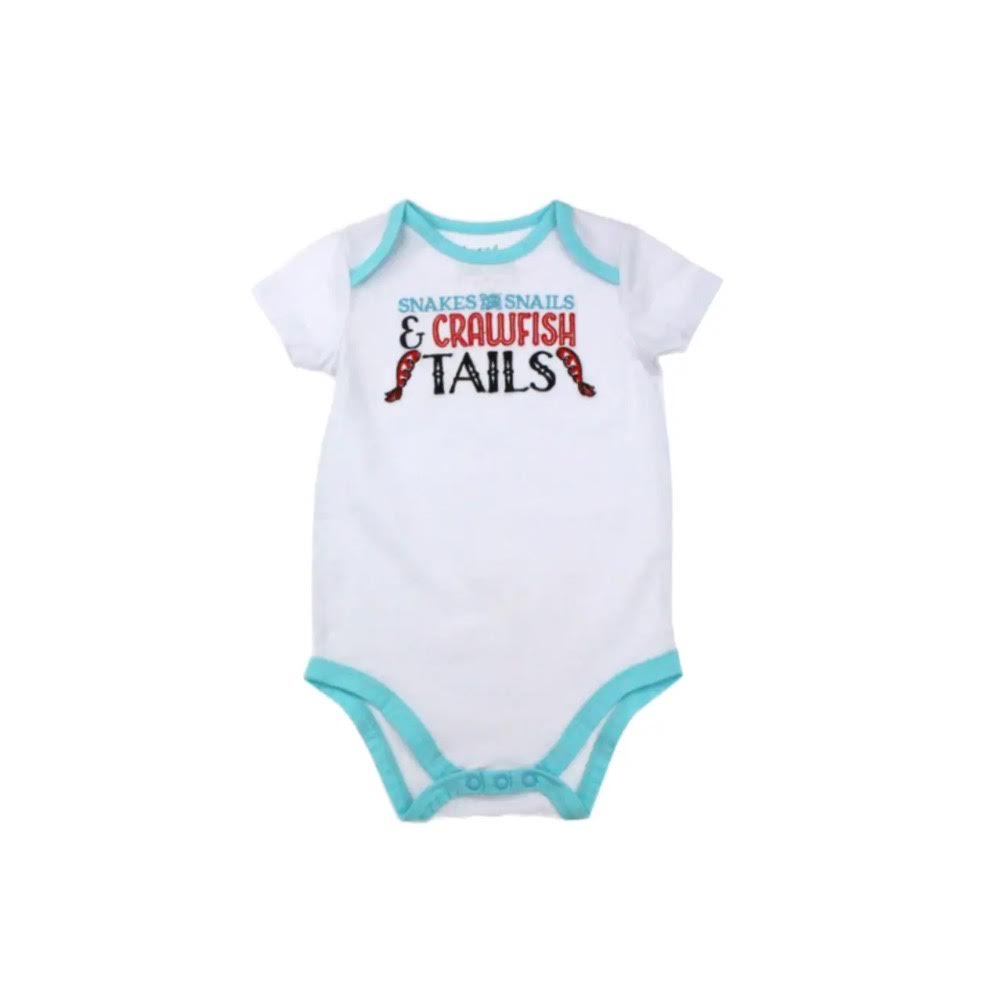 INFANT CRAWFISH TAILS ONESIE