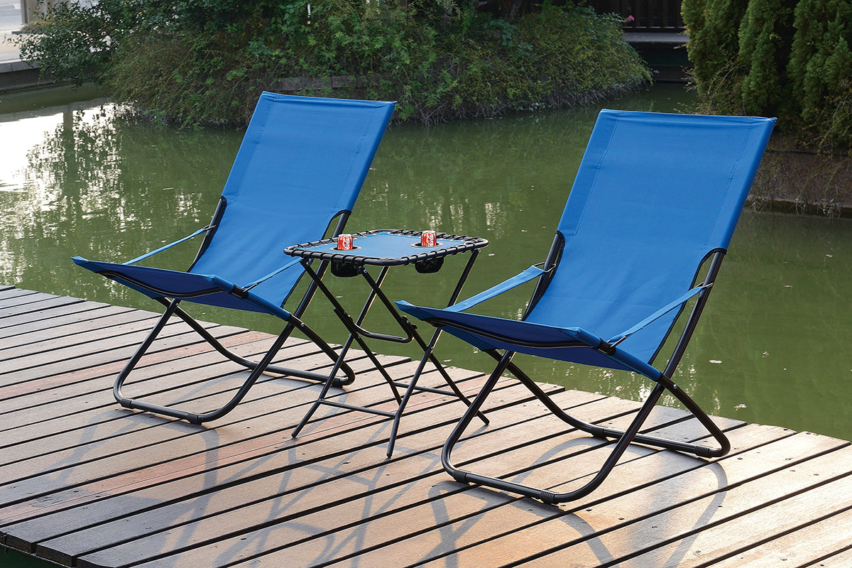 124 Outdoor 3-Pcs Outdoor Set