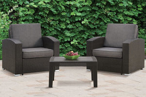 138 Outdoor 3-Pcs Outdoor Set