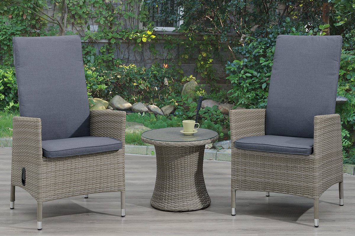 154 Outdoor 3-Pcs Outdoor Set