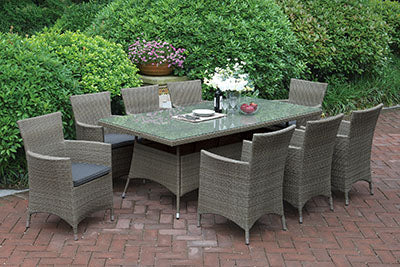 223 Outdoor 9-Pcs Outdoor Set