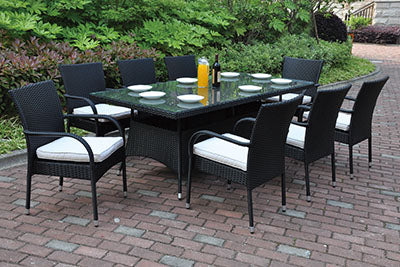224 Outdoor 9-Pcs Outdoor Set
