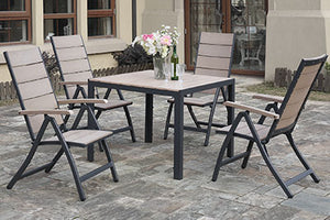252 Outdoor 5-Pcs Outdoor Set